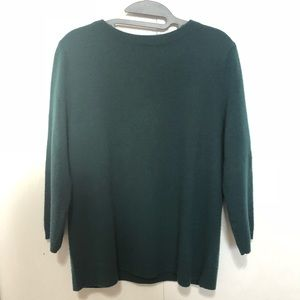Talbots | 100% Cashmere 3/4 Sleeve Sweater
